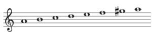 和声短音階の画像