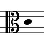 アルト記号の画像