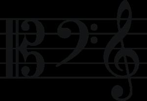 音部記号の画像