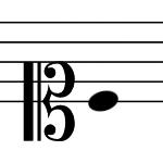 ソプラノ記号の画像