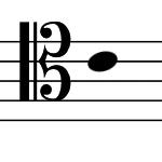 テノール記号の画像