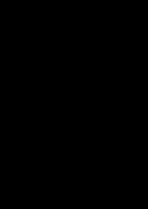 ト音記号の画像