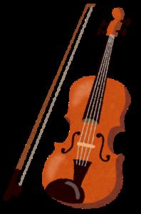 楽器(ヴァイオリン)の画像